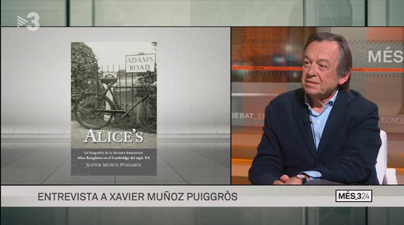 Entrevista a Xavier Muñoz. Programa Més324.