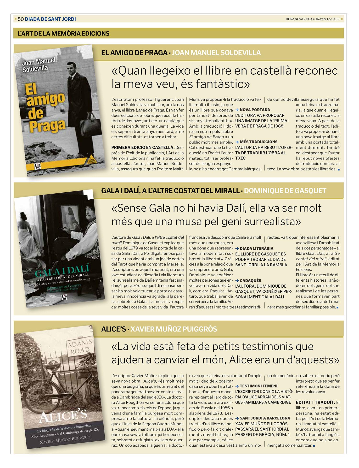Llibres Sant Jordi 2019