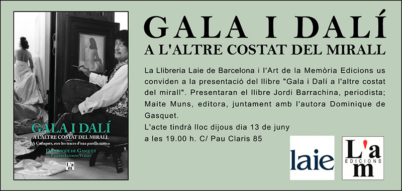 Presentació de Gala i Dalí a Laie