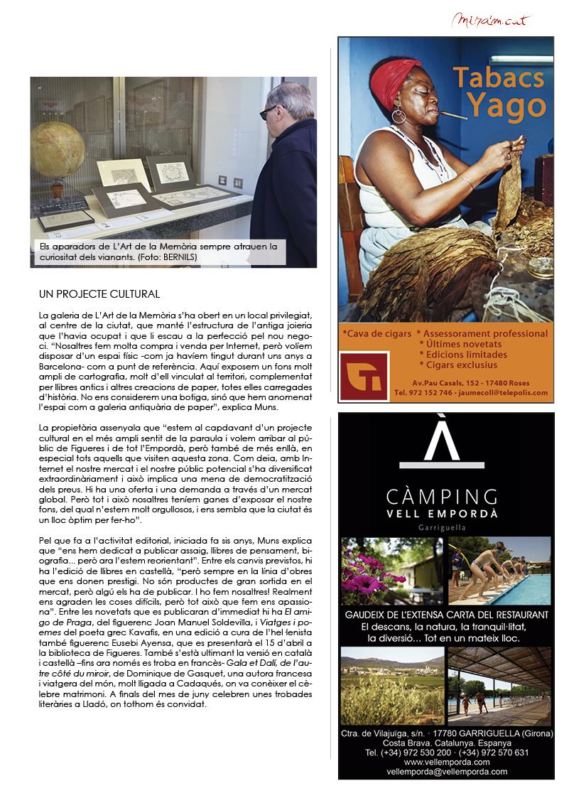 Reportatge Revista Mira'm 227 - pàgina 25