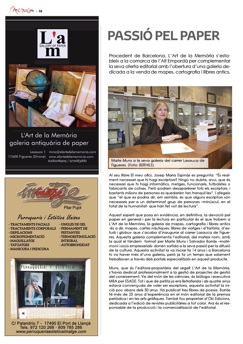 Reportatge Revista Mira'm 227 - pàgina 24