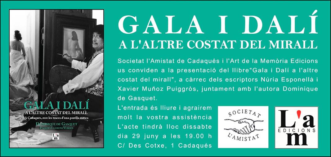 Gla i Dalí a l'Amistat de Cadaquès