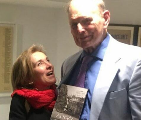 El Fill d'Alice amb la periodista Mariona Comellas