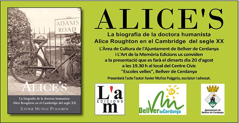 Presentació Alice's a Bellver de Cerdanya