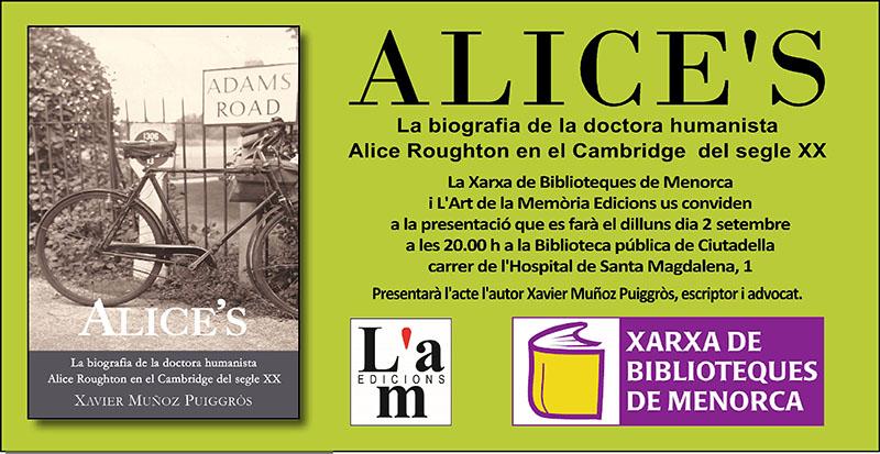 Alice's a Ciutadella de Menorca